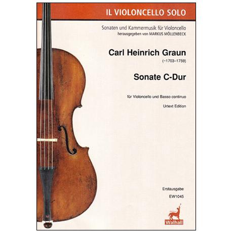 Graun, C. H.: Violoncellosonate C-Dur