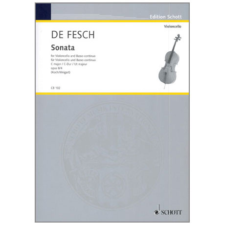 Fesch, W. d.: Sonata Op. 8/4 C-Dur