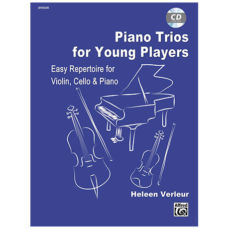 Verleur, H.: Piano Trios for Young Players (+CD)