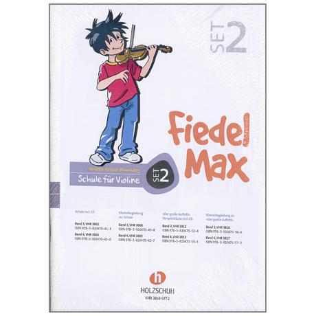 Holzer-Rhomberg, A.: Fiedel-Max für Violine Set 2