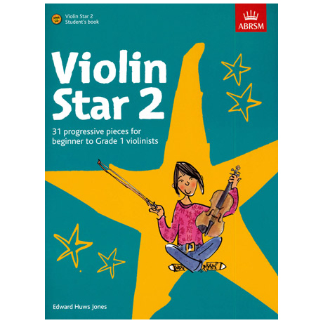 Jones, E. H.: Violin Star 2 (+CD)