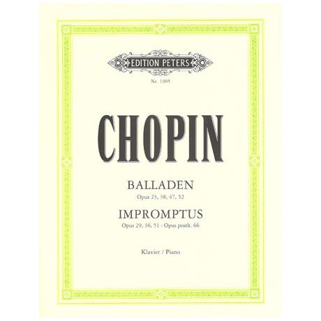 Chopin, F.: Balladen, Impromptus