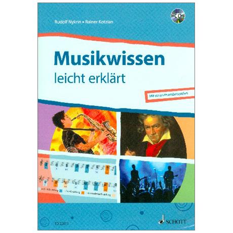 Nykrin, R./Kotzian, R.: Musikwissen – leicht erklärt (+CD)