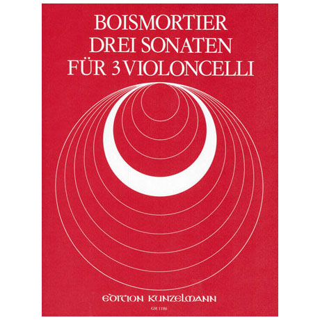 Boismortier, J. B. d.: 3 Sonaten