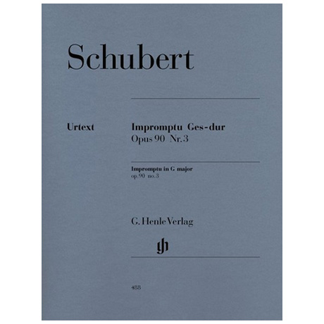 Schubert, F.: Impromptu Ges-Dur Op. 90,3 D 899