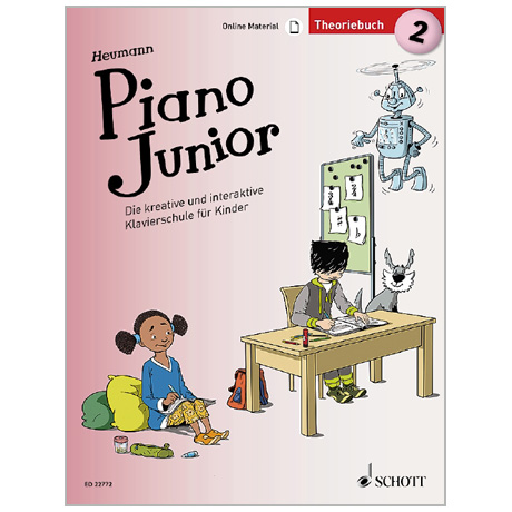 Heumann, H.-G.: Piano Junior – Theoriebuch Band 2 (+Online Material)