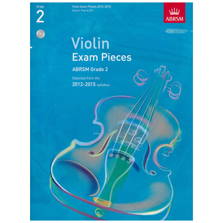 ABRSM: Selected Violin Exam Pieces Grade 2 (2012-2015) (+CD)
