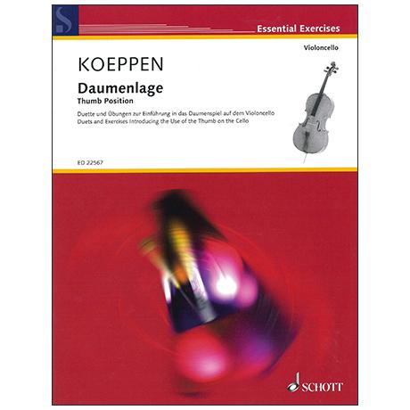 Koeppen, G.: Daumenlage – Duette und Übungen