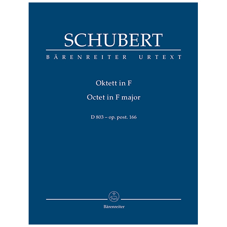 Schubert, F.: Oktett F-Dur Op. post.166 D 803