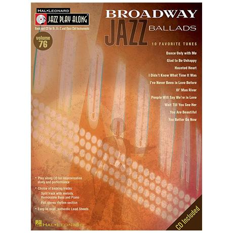 Broadway Jazz Ballads (+CD)