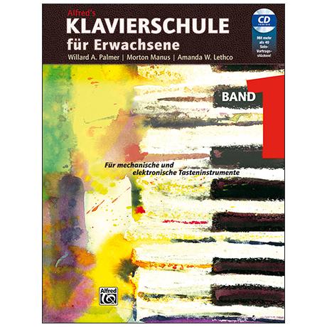 Alfred's Klavierschule für Erwachsene Band 1 (+CD)