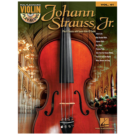 Strauss, J. (Sohn): Acht Melodien (+CD)