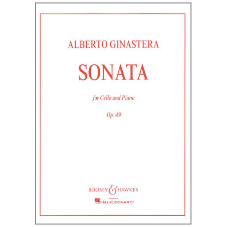 Ginastera, A.: Sonate Op. 49