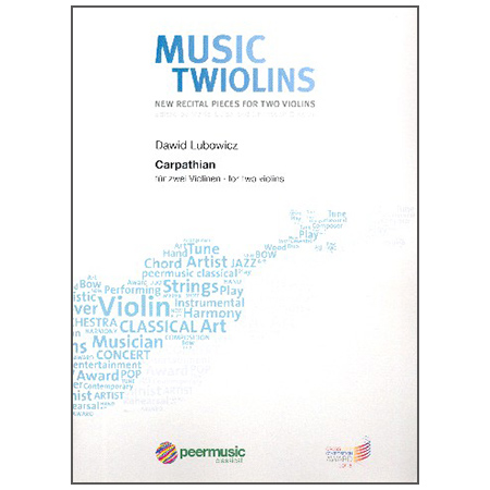 Lubowicz, D.: Carpathian – Music for the Twiolins