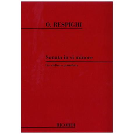 Respighi, O.: Sonata si minore