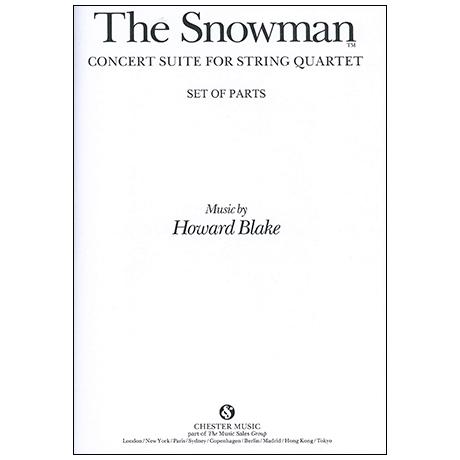 Blake, H.: The Snowman – Stimmen