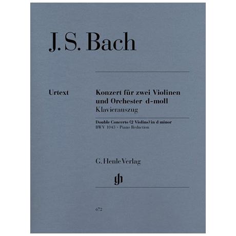 Bach, J. S.: Violinkonzert BWV 1043 d-Moll