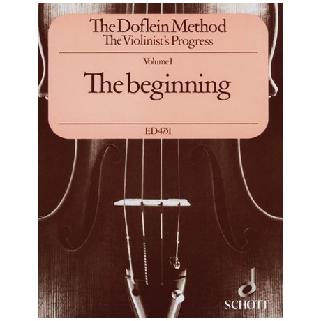 The Doflein Method - Volume 1