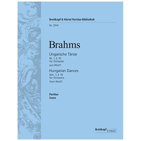 Brahms, J.: Ungarische Tänze