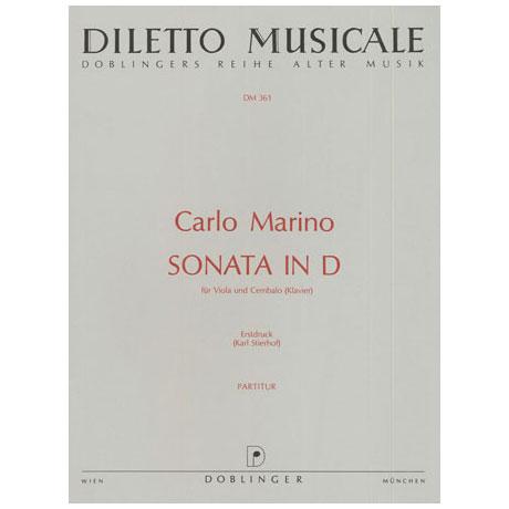 Marino, C. A.: Sonate D-Dur