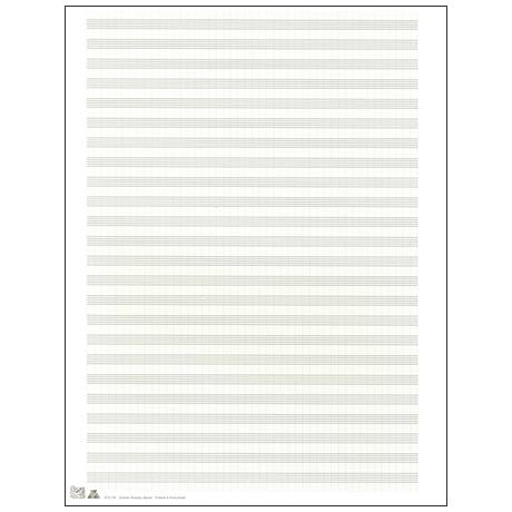 Notenbogen 270x360 mm