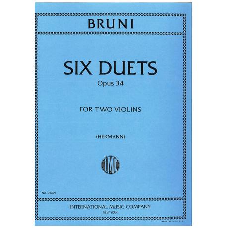 Bruni, A.B.: 6 einfache Duette op. 34