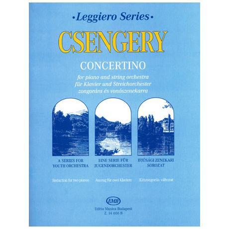 Leggiero - Csengery: Concertino