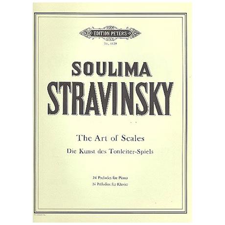 Strawinsky, Soulima: Kunst des Tonleiterspiels