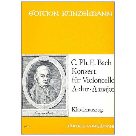 Bach, C.P.E.: Konzert A-Dur