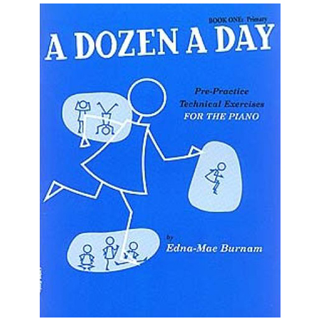 Burnam, E. M.: A Dozen A Day Book 1: Primary