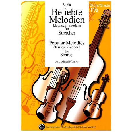 Beliebte Melodien - klassisch, modern - Band 2