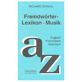 Fremdwörterlexikon Musik