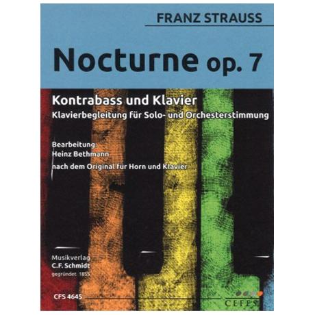 Strauss, F.: Nocturne Op. 7
