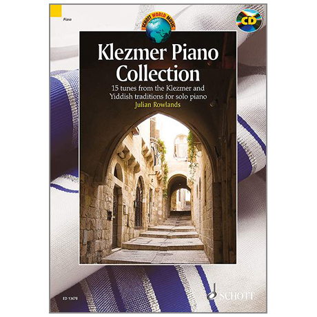 Rowlands, J.: Klezmer Piano Collection (+CD)