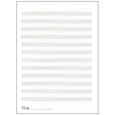Notenbogen DIN A4