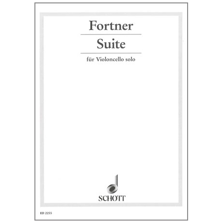 Fortner, W.: Cello-Suite