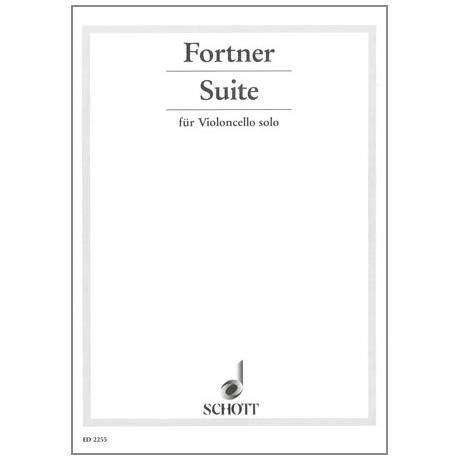Fortner, W.: Suite