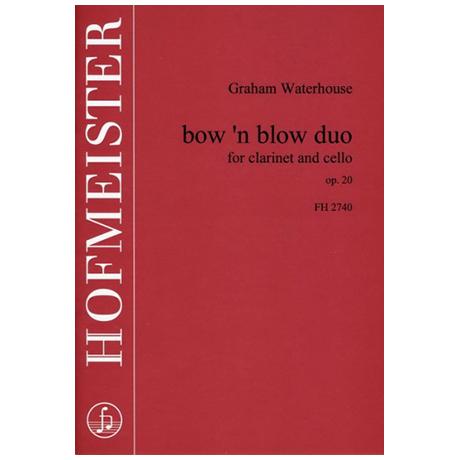Waterhouse, G.: bow'n blow duo Op. 20