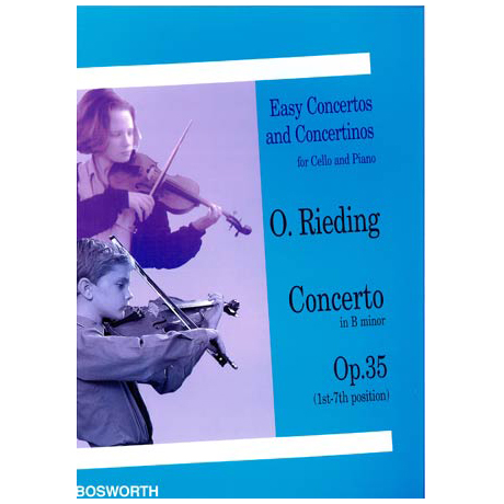 Rieding, O.: Violoncellokonzert Op. 35 h-moll