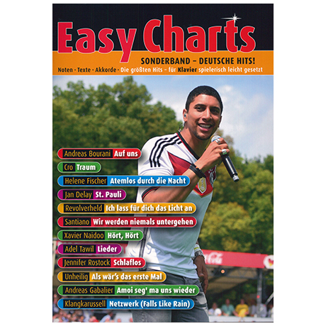 Easy Charts Sonderband: Deutsche Hits!