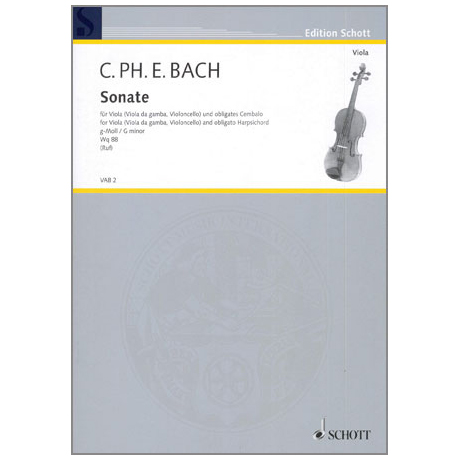 Bach, C. Ph. E.: Sonate g-Moll