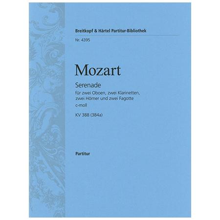 Mozart, W. A.: Serenade c-Moll KV 388 (384a)