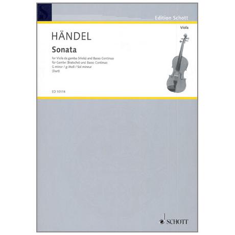Händel, G. F.: Violasonate HWV364b g-Moll