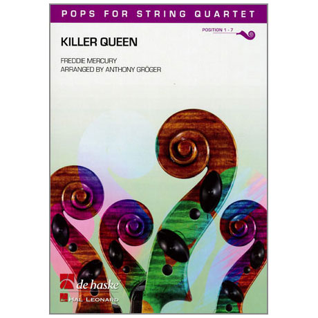 Pops for String Quartet - Freddie Mercury: Killer Queen