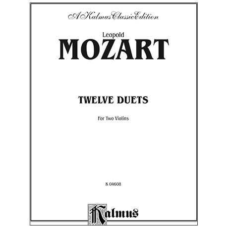Mozart, L.: Zwölf Duette