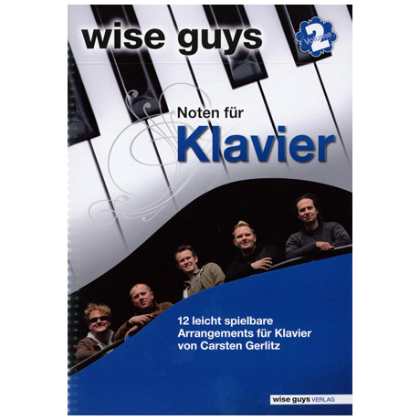 Wise Guys: Noten für Klavier Vol. 2