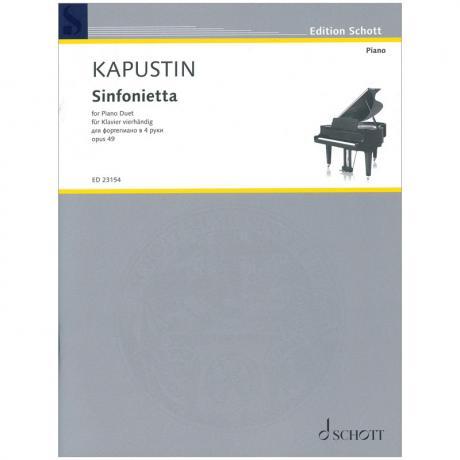 Kapustin, N.: Sinfonietta Op. 49 C-Dur (1986)