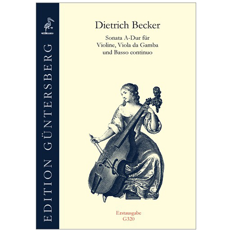 Becker, D.: Sonata A-Dur