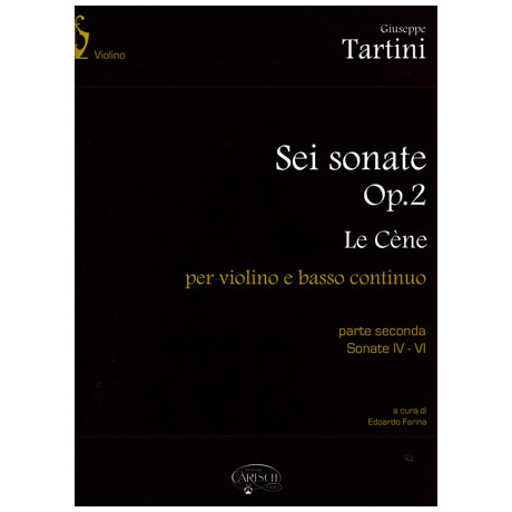 Tartini, G.: 6 Sonaten Op.2 Band 2 IV-VI