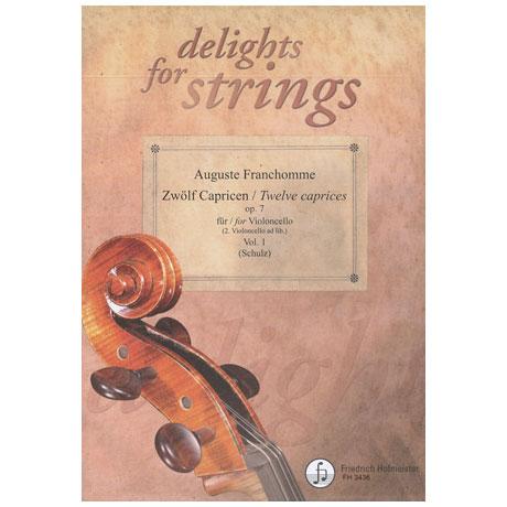 Franchomme, A.: 12 Capricen op.7 Band 1 (Nr.1-6)